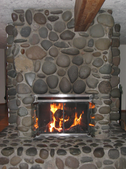 Riverock Fireplace